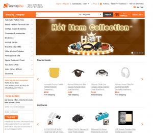 screenshot van de website sourcingmap