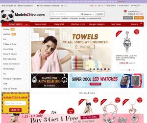 screenshot van de webshop madeinchina